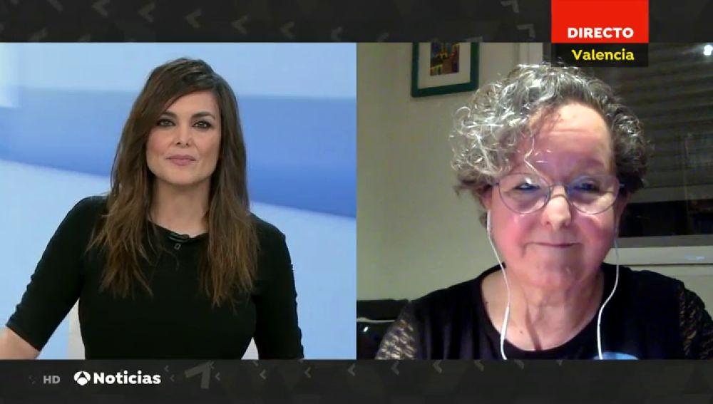 """Marisa Blasco, jefa de UCI del Hospital Clínico de Valencia: """"Seguirán creciendo los pacientes"""""""
