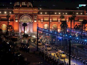 Egipto convierte el traslado de 22 momias de grandes reyes y reinas en un gran espectáculo