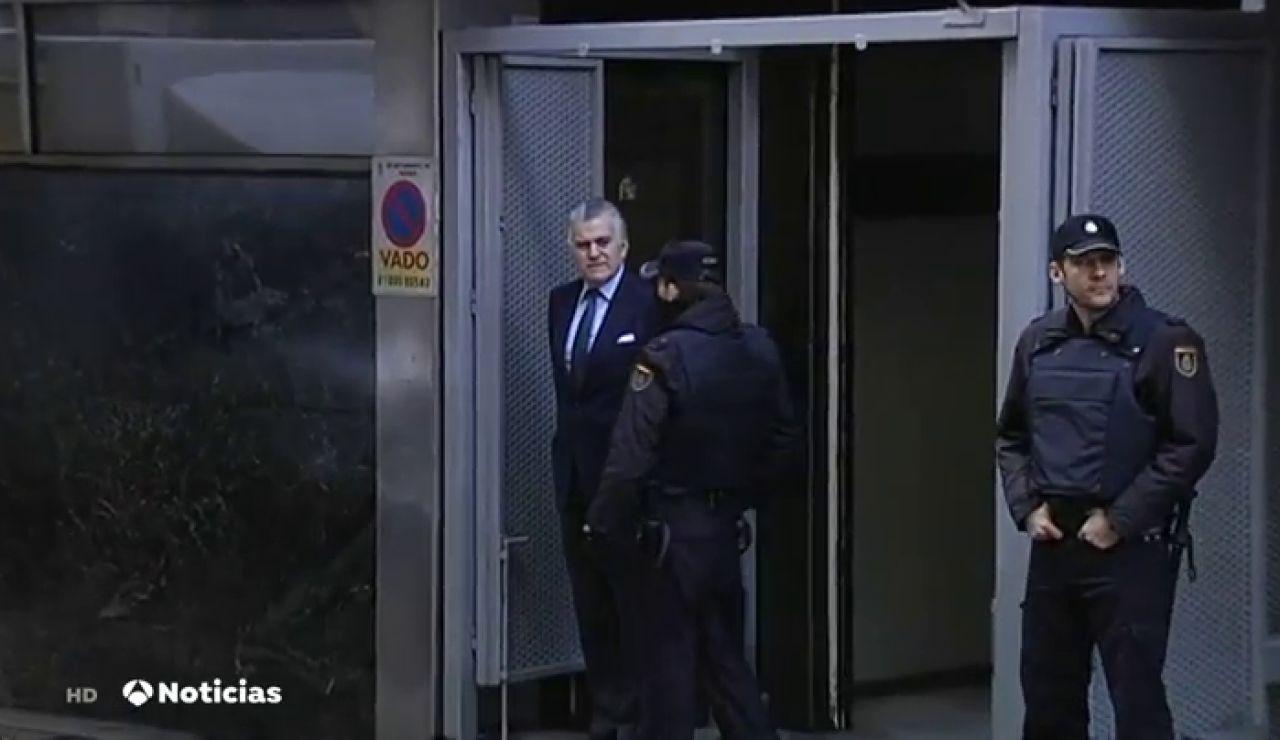 Bárcenas sale de prisión para disfrutar de los primeros seis días de permiso