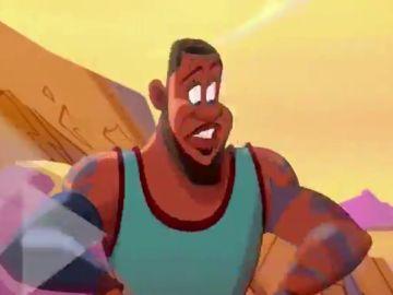LeBron James convertido en dibujo animado: así es el esperado trailer de Space Jam 2