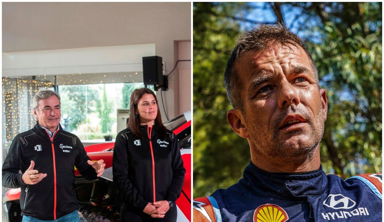 Carlos Sainz y Laia Sanz se quedan fuera de la final del Extreme E: Loeb y Cristina Gutiérrez lucharán por la victoria