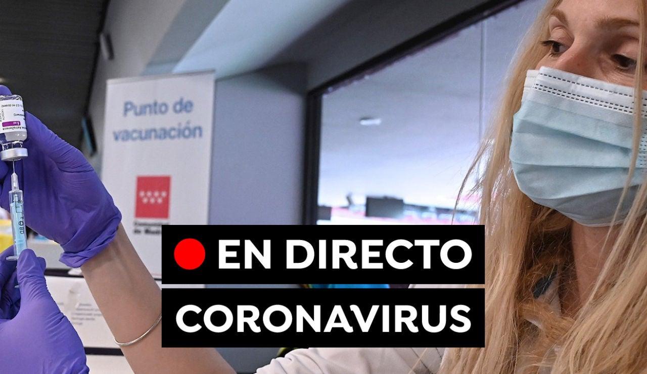 Coronavirus en España hoy: Restricciones y medidas en Semana Santa, datos del Covid-19 y últimas noticias, en directo