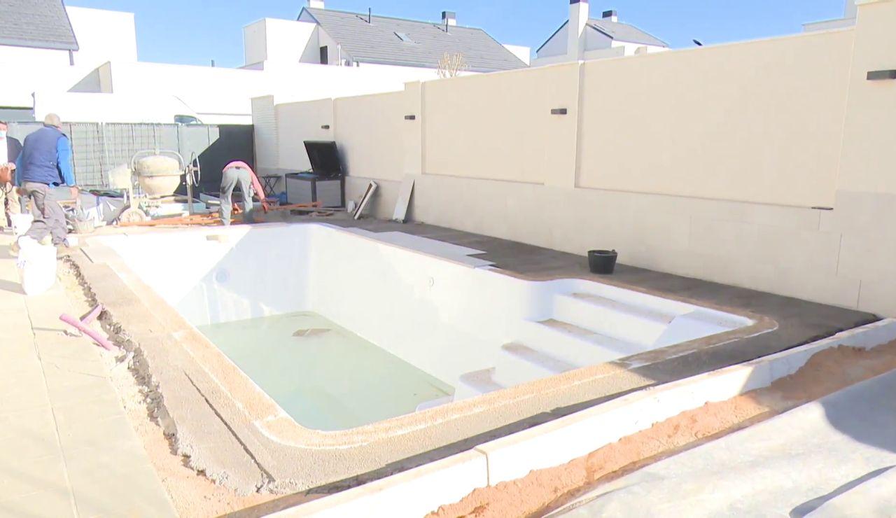 Crece la demanda de piscinas privadas de cara al verano