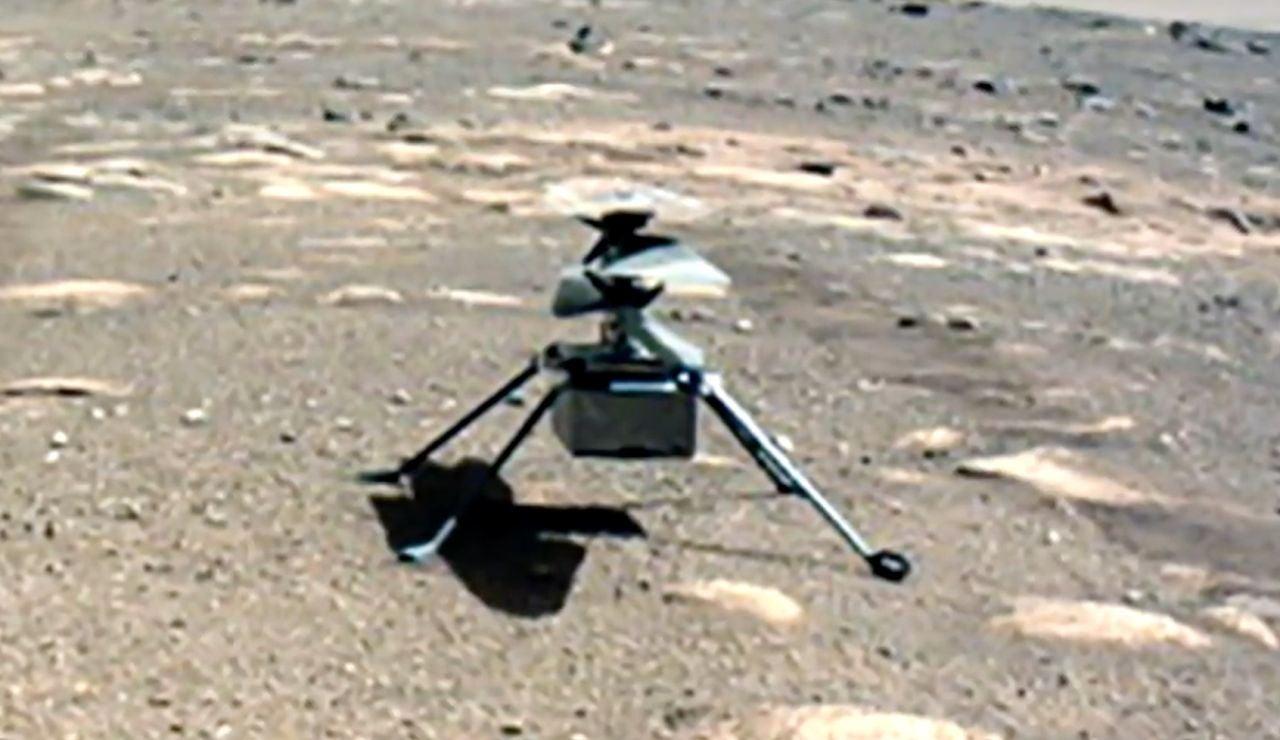Ingenuity, helicóptero marciano