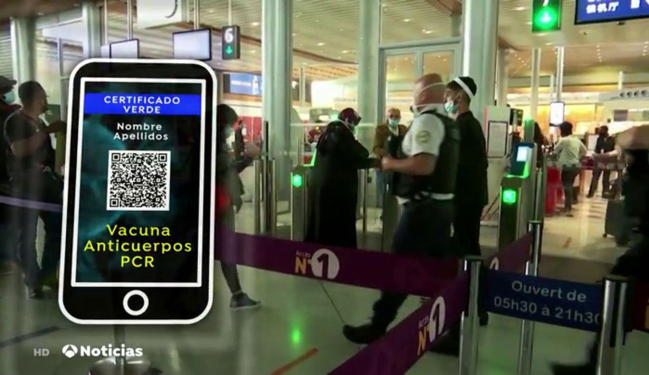Galicia implantará este mes de abril el 'pasaporte covid-19'