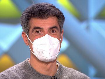 El truco de Jorge Fernández para que la gente sepa que sonríes con mascarilla