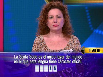 Carmen se enfrenta, por 5.000 euros, a su primer Duelo Final en '¡Ahora caigo!'