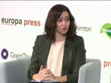 """Isabel Díaz Ayuso, sobre Pedro Sánchez: """"No hay controles en Barajas y nos habla de desmadre"""""""