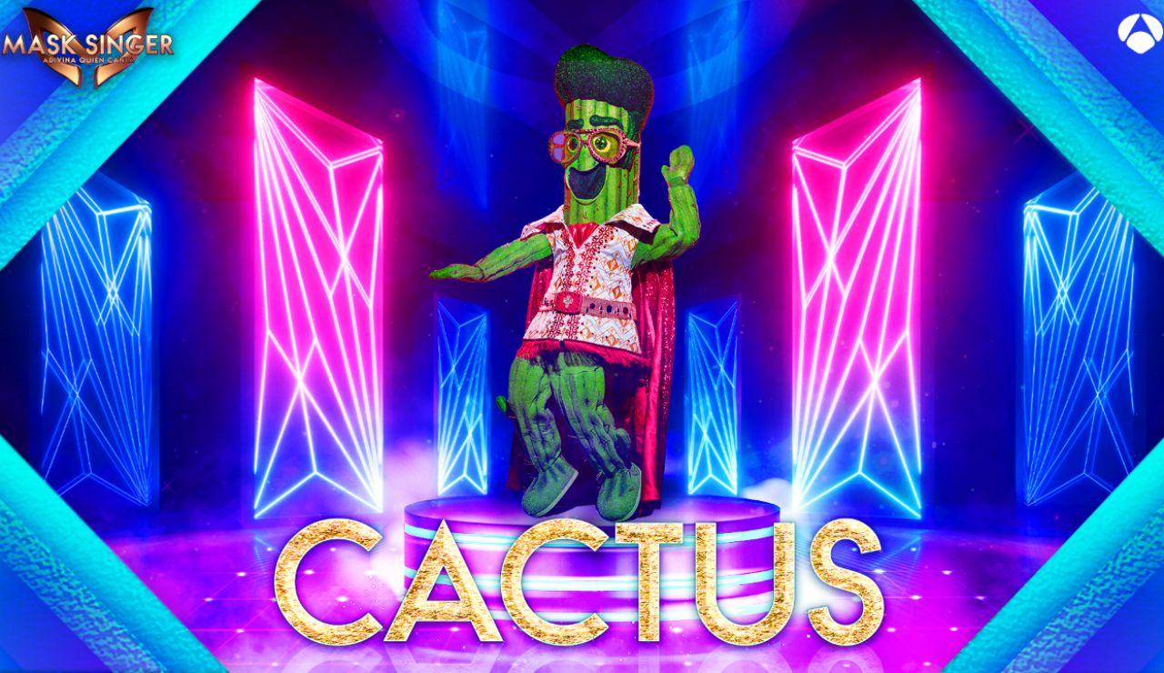 Máscara Cactus