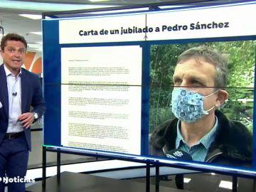 """Un jubilado le envía una carta a Pedro Sánchez para decirle que el paro """"al final le ha perjudicado en la pensión"""""""