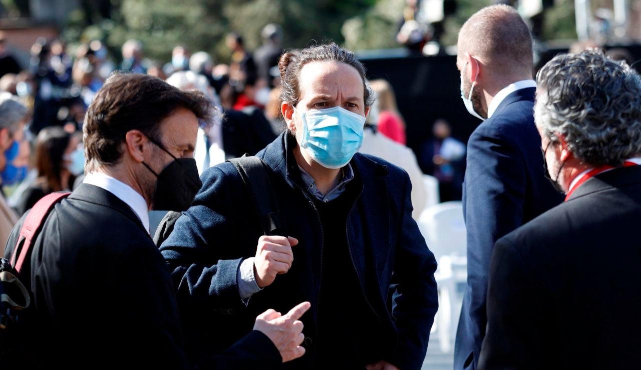Pablo Iglesias, candidato de Unidas Podemos a las elecciones de Madrid