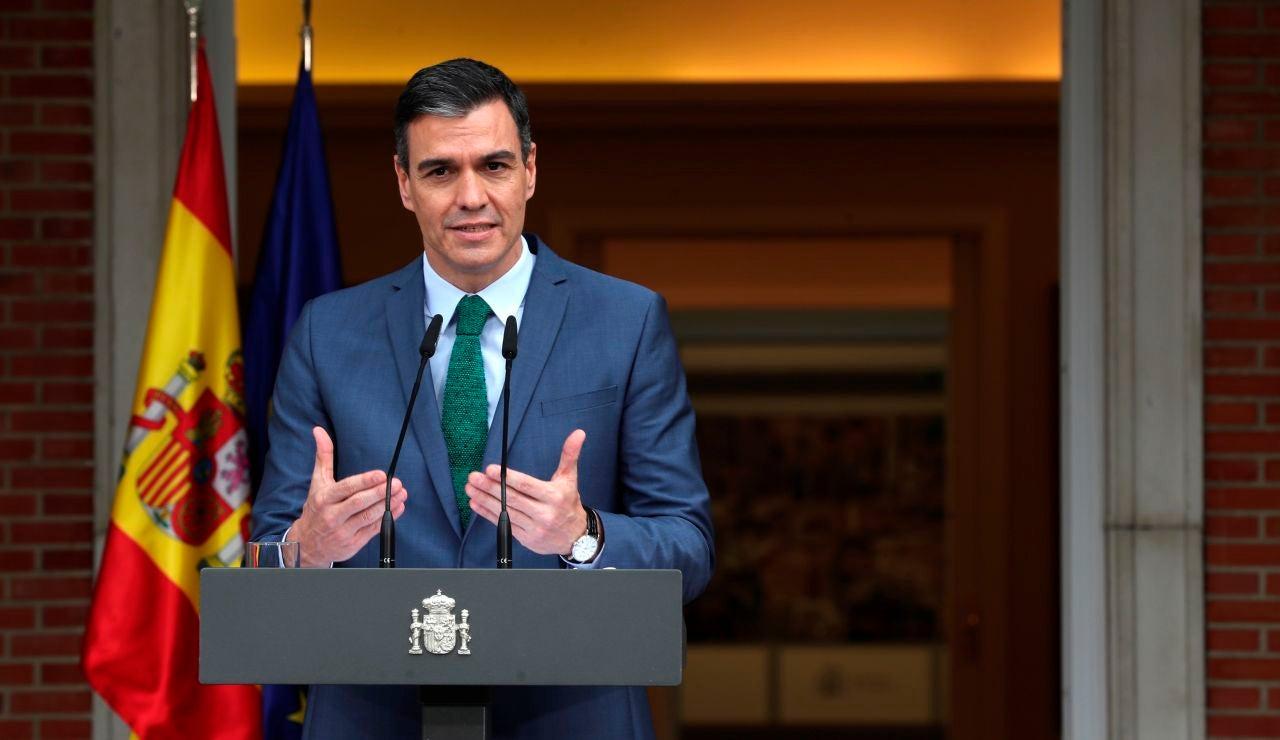 VÍDEO: Comparecencia de Pedro Sánchez hoy 6 de abril tras el Consejo de Ministros, en directo