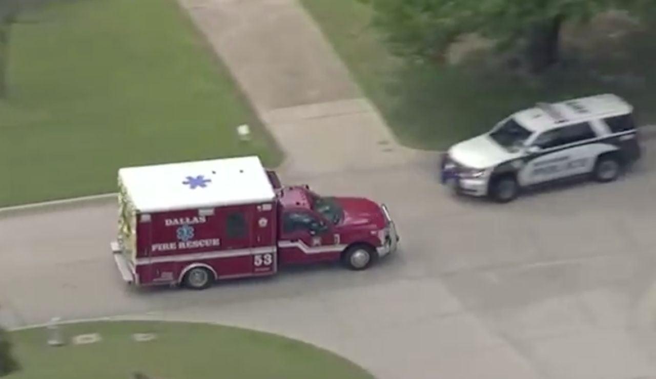 Persecución policial de una ambulancia