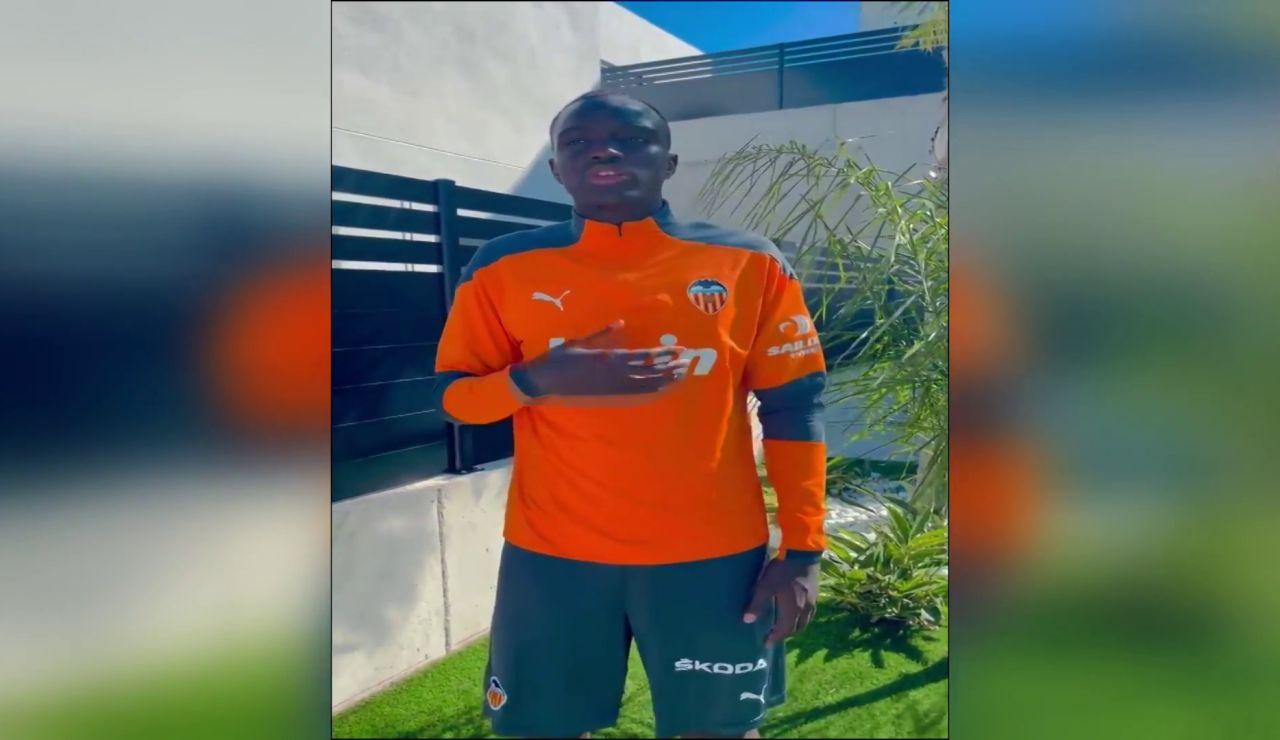 Mouctar Diakhaby, jugador del Valencia