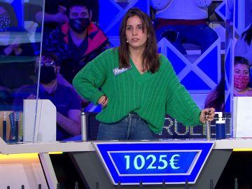 """Lo """"más fácil"""" del panel casi pone en problemas a Andrea en 'La ruleta de la suerte'"""