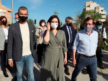 """Isabel Díaz Ayuso defiende la """"integración"""" de Toni Cantó en su lista electoral: """"Nos mueve el mismo hilo que es la libertad"""""""