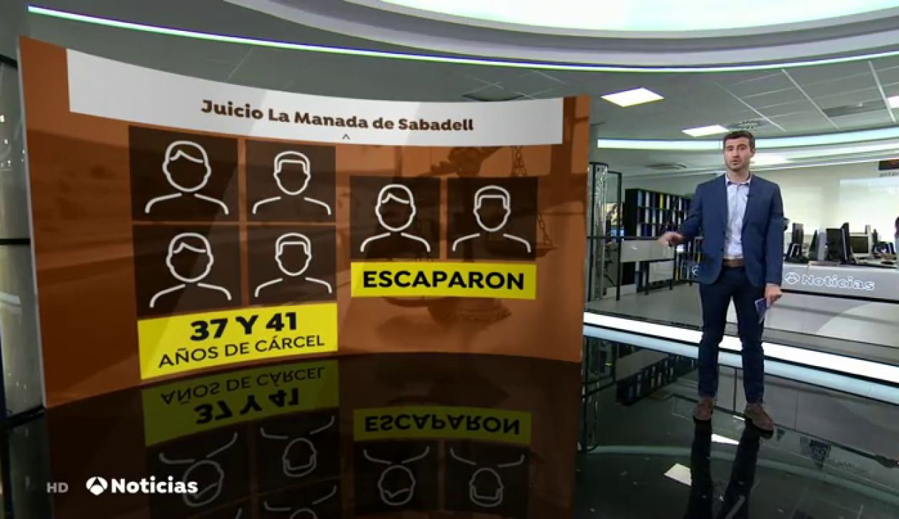 """Uno de los acusados de la 'Manada de Sabadell' asegura que fue la chica """"la que se abalanzó"""" y que """"mantuvieron una relación sexual consentida"""""""