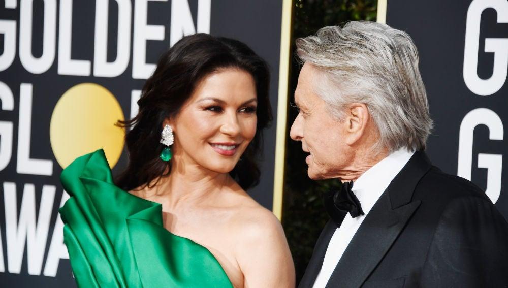 Catherine Zeta-Jones y Michael Douglas
