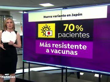 La variante del coronavirus 'Eek', que reduce la protección de las vacunas, predomina en un hospital de Tokio