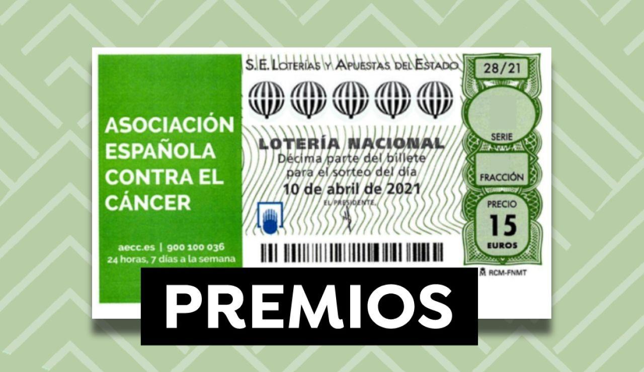 Premios del sorteo Extraordinario de la AECC de Lotería Nacional 2021 y probabilidades de ganar