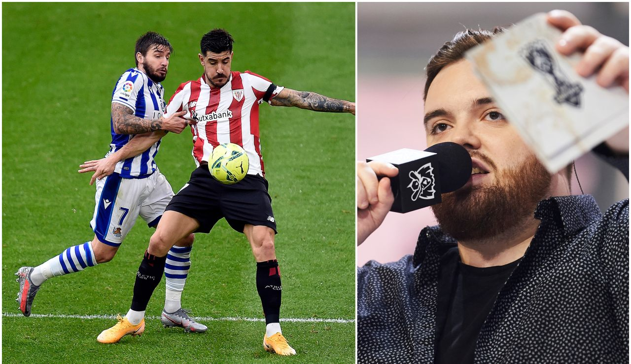 Ibai Llanos retransmite en directo el Real Sociedad - Athletic Club de la Liga a través de Twitch