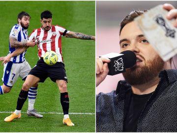 Ibai Llanos retransmite en directo el Real Sociedad - Athletic Club de la Liga a través de Twitch