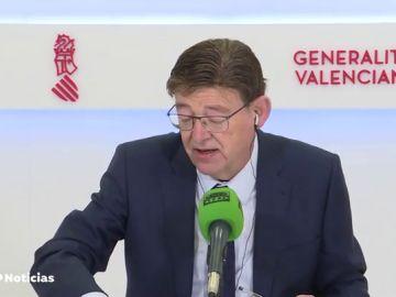 """Ximo Puig informa que se reunió con Janssen en el marco de la UE sin """"ninguna relación mercantil"""""""