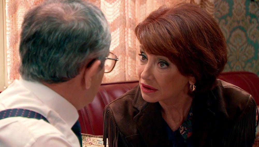 """Isabel le pide sinceridad a Justo: """"¿Quieres que esto acabe?"""""""