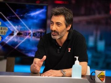 """""""¿Amo a Ágatha Ruiz de la Prada?"""", Pablo Motos pregunta a Juan del Val por el mensaje de su polo"""
