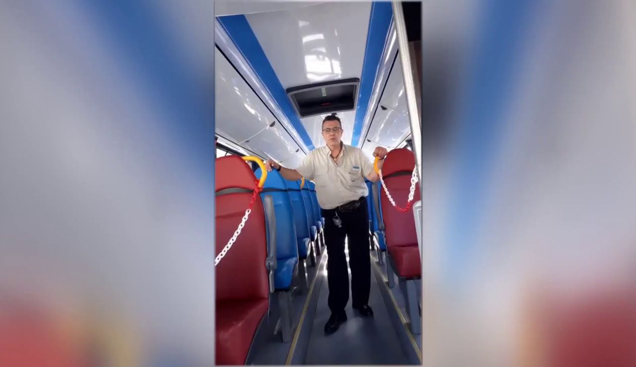 Eloy Torres, el 'chófer tiktokero'