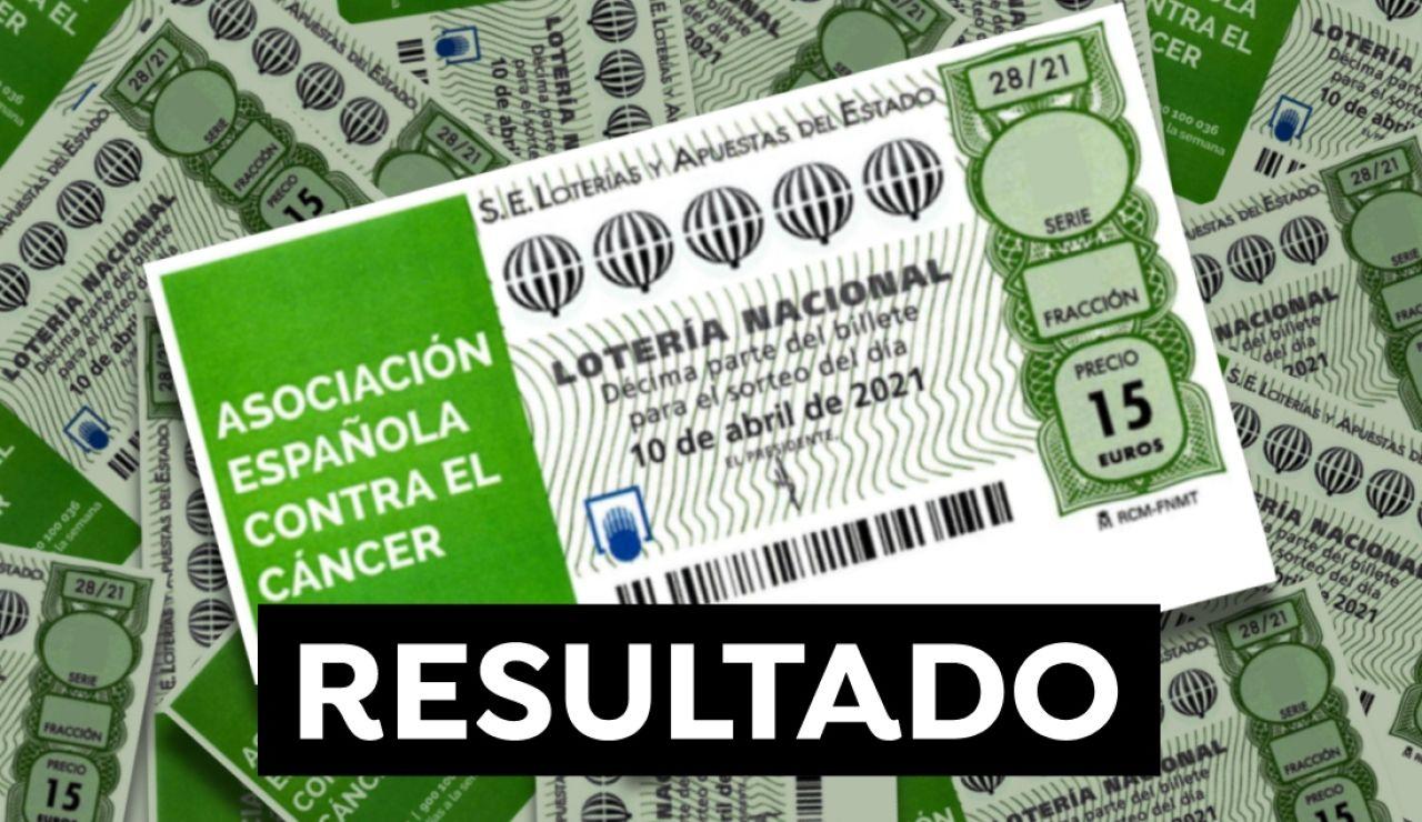 Comprobar Lotería Nacional: Resultado del Sorteo Extraordinario de la AECC hoy 10 de abril
