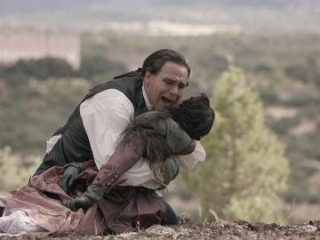 La muerte de Alba destroza a Diego: su amor y el sueño de ser padre, arrebatados