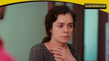 Antena 3 vuelve a liderar el prime time con gran subida de 'Mujer'