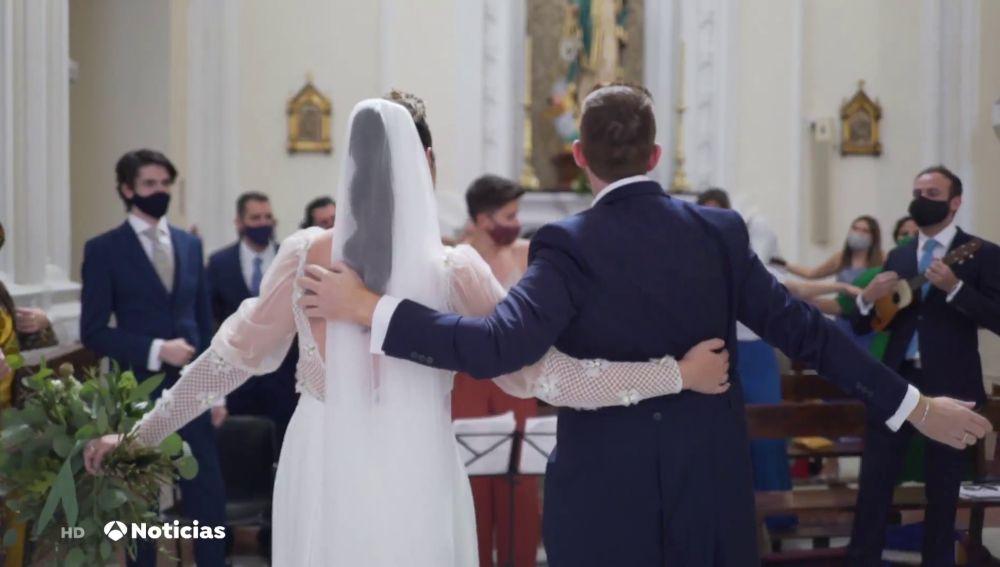 El negocio de las bodas se reinventa para poder cumplir el sueño de los novios pese al coronavirus