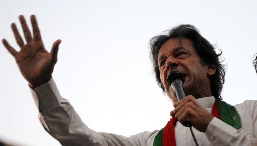Primer ministro de Pakistán, Imran khan.