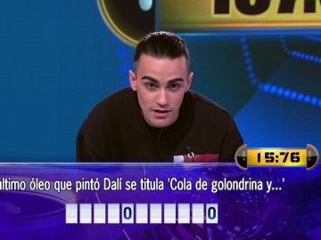 Borja juega el Duelo Final por una de las cifras más altas de la historia de '¡Ahora caigo!'