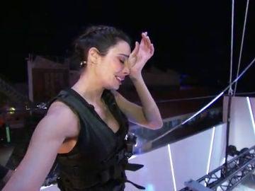 Lágrimas, nervios y mucho miedo: Pilar Rubio se supera en 'El Hormiguero 3.0'