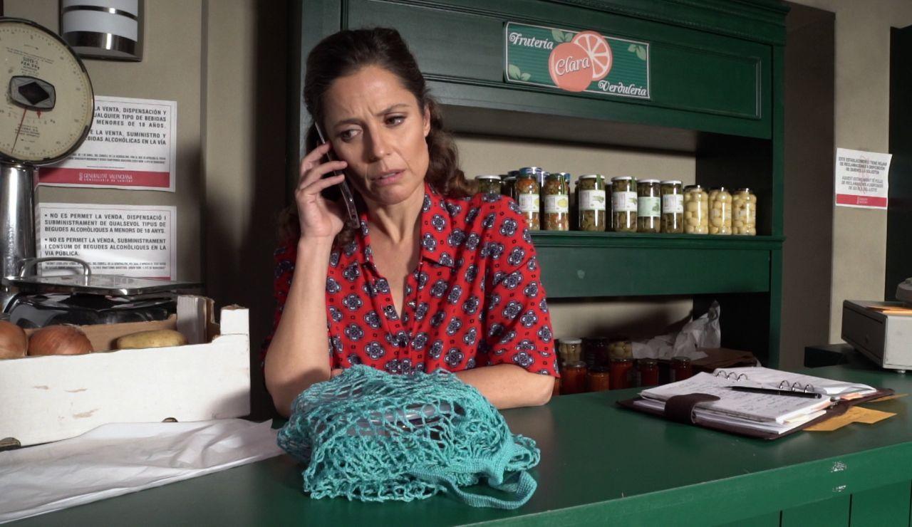 """Clara, preocupada con Alba y Bruno: """"¿No estáis bien, verdad?"""""""