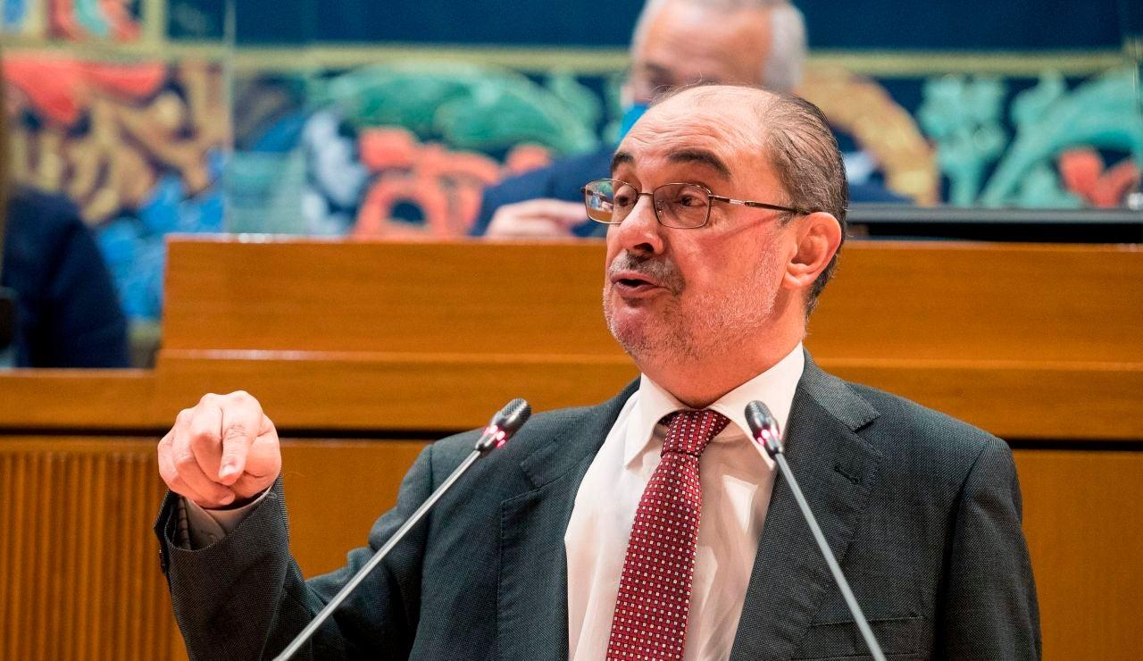 Lambán anuncia la prórroga del confinamiento autonómico