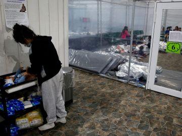 Un centro de inmigración en Estados Unidos