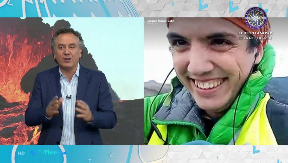 Juan Muñoz-Cobo, el científico español que vigila el volcán Fagradalsfjall en Islandia