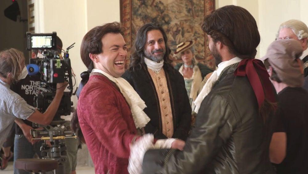Nos colamos dentro del palacio de Castamar para asistir a uno de sus convites