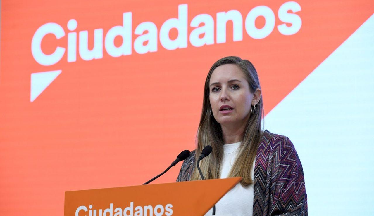 La hasta hoy portavoz adjunta de Ciudadanos, Melisa Rodríguez