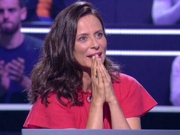 Aitana Sánchez Gijón se disculpa con su madre al encontrar su talón de Aquiles a tres preguntas del millón de euros