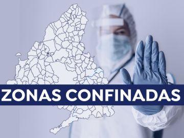 Nuevas zonas básicas de Madrid confinadas y municipios con restricciones anunciadas hoy
