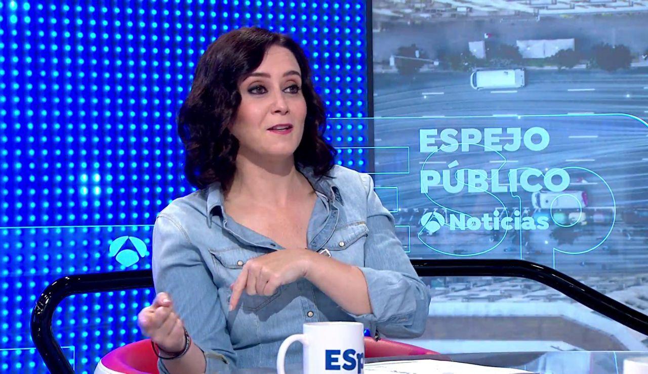 """Isabel Díaz Ayuso: """"Las listas electorales son como las mesas en las bodas"""""""