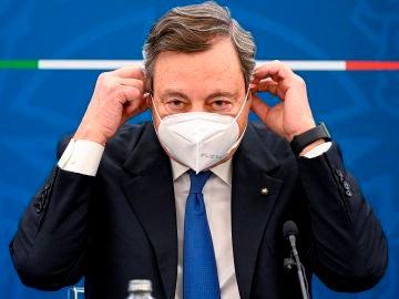 Mario Draghi, primer ministro de Italia