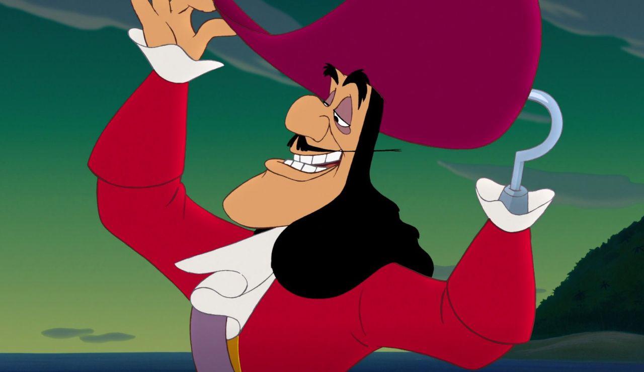 Capitán Garfio en 'Peter Pan'