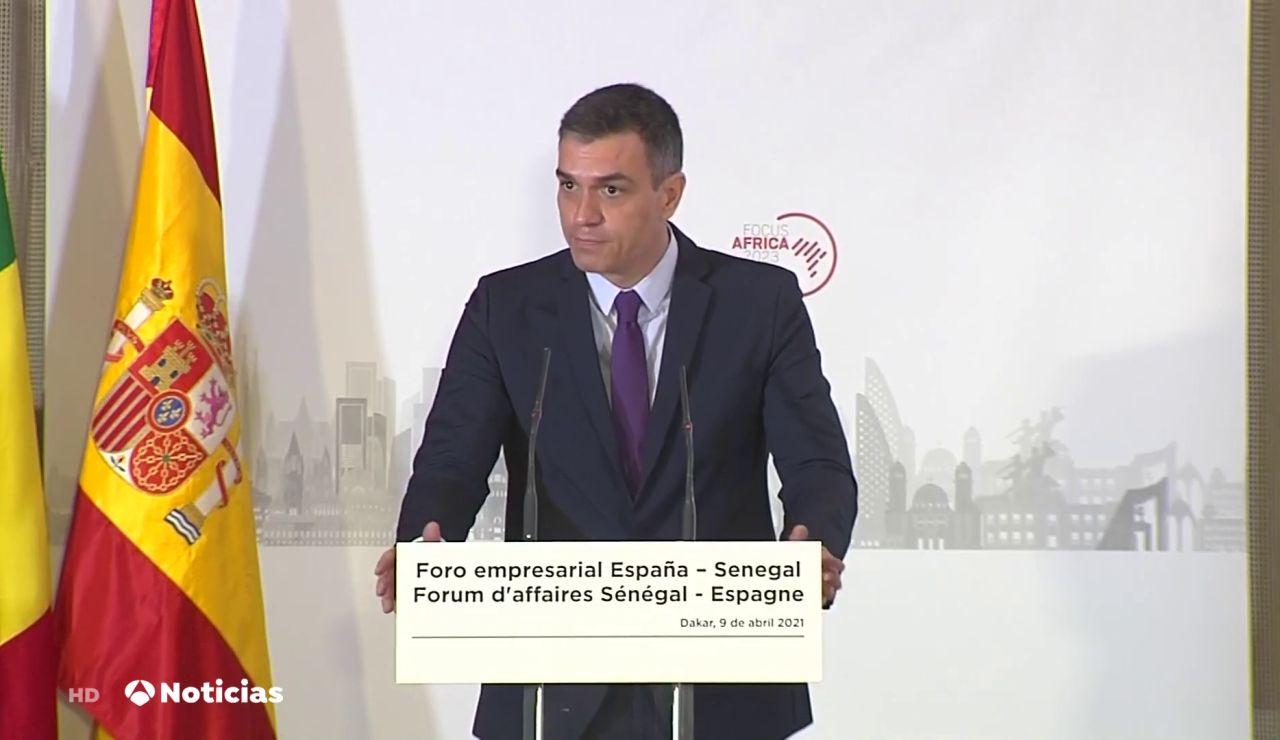 Pedro Sánchez asegura que en septiembre llegarán 78 millones de vacunas sin contar las de AstraZeneca