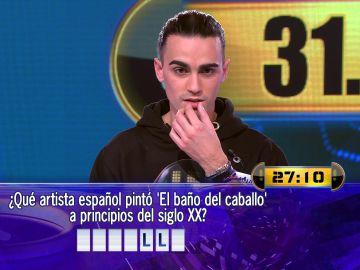 Borja juega por poco más de 30.000 euros el Duelo Final de '¡Ahora caigo!'